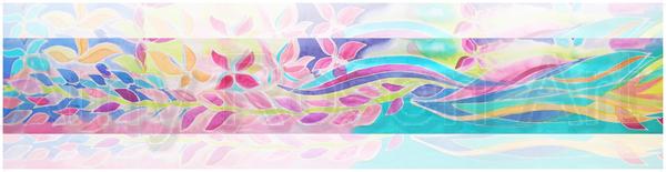 Sea Runner pastel border